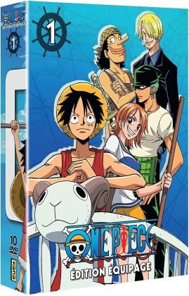 One Piece - Édition Équipage - Coffret 1 (10 DVDs)