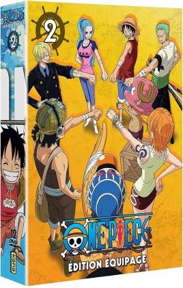 One Piece - Édition Équipage - Coffret 2 (12 DVDs)