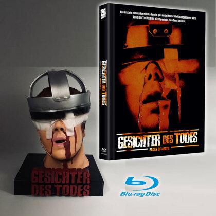 Gesichter des Todes (1978) (Cover D, + Büste, Limited Edition, Mediabook, Blu-ray + DVD)