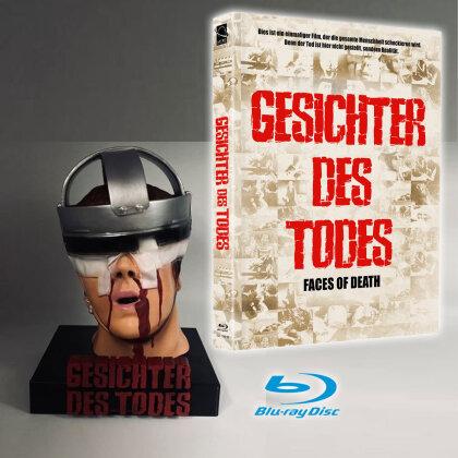 Gesichter des Todes (1978) (Cover B, + Büste, Limited Edition, Mediabook, Blu-ray + DVD)