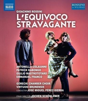 Virtuosi Brunensis, José Miguel Pérez-Sierra & Antonella Colaianni - L'equivoco Stravagante (Naxos)