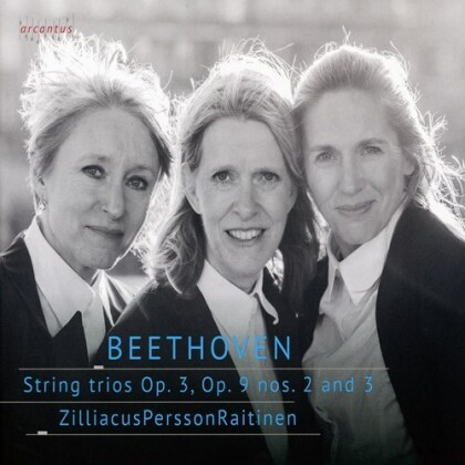 Trio ZilliacusPerssonRaitinen, Cecilia Zilliacus, Kati Raitinen & Ludwig van Beethoven (1770-1827) - String Trios