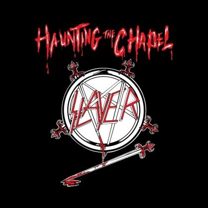 Slayer - Haunting The Chapel (2021 Reissue, Metalblade, Red/White Melt Vinyl, LP)