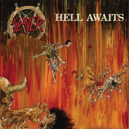 Slayer - Hell Awaits (2021 Reissue, Metalblade, Orange/Red Splatter Vinyl, LP)