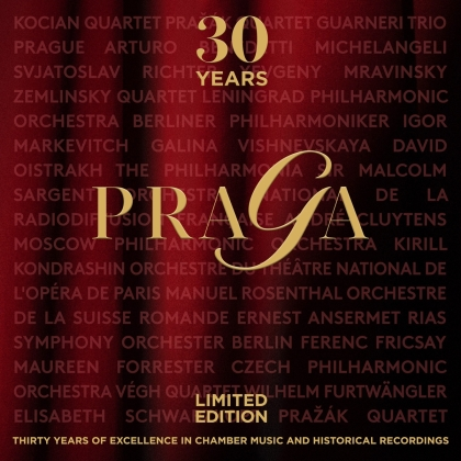 30 Years Of Praga - The Anniversary (30 CDs)