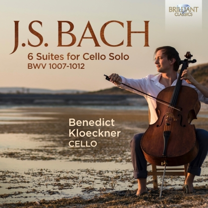 Johann Sebastian Bach (1685-1750) & Benedict Kloeckner - 6 Suites For Cello Solo BWV 1007-1012 (3 CDs)