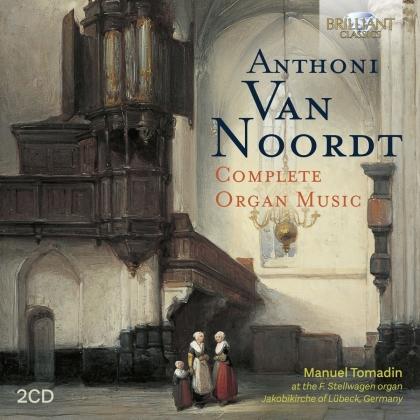 Anthoni van Noordt (1619-1675) & Manuel Tomadin - Complete Organ Music (2 CDs)