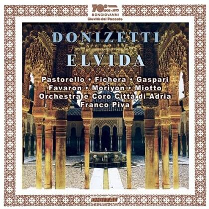 Gaetano Donizetti (1797-1848), Franco Piva, Pastorello, Annamaria Fichera, Caspari, … - Elvida