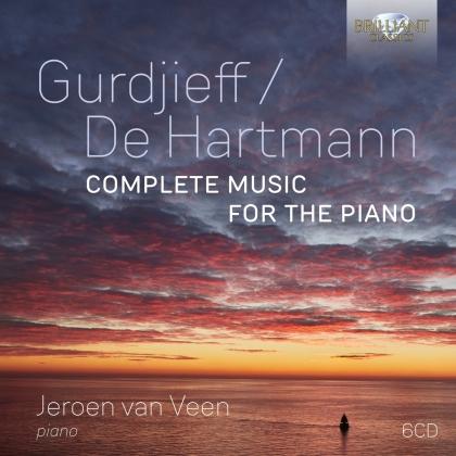 Georg Iwanowitsch Gurdjieff (1866-1949), Thomas de Hartmann 1885-1956) & Jeroen van Veen (*1969) - Complete Music For The Piano