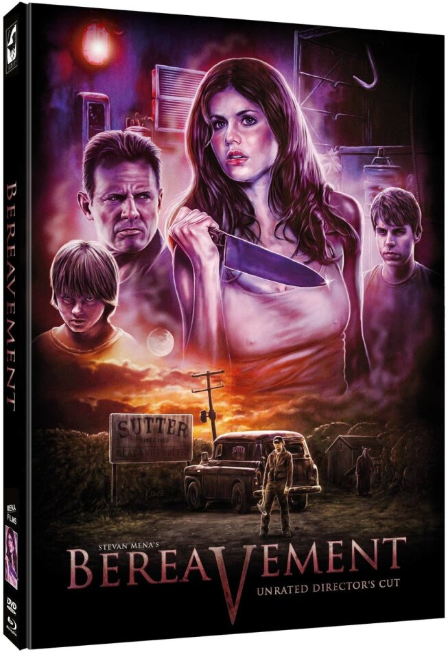 Bereavement (2011) (Cover C, Director's Cut, Limited Edition, Mediabook, Unrated, Blu-ray + DVD)
