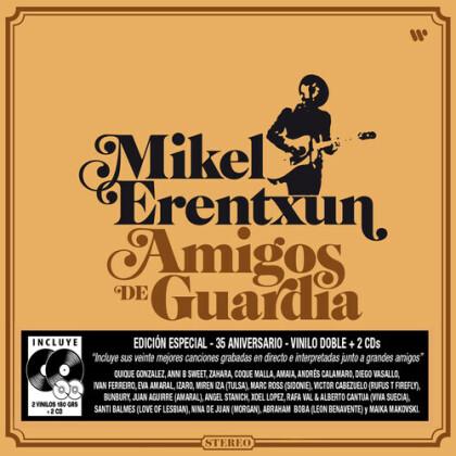 Mikel Erentxun - Amigos De Guardia (Oversize Item Split, 3 LPs + CD)