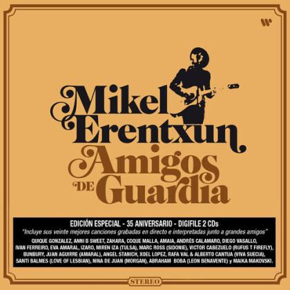 Mikel Erentxun - Amigos De Guardia (Star Signed, Guitar Pick, 2 CDs)