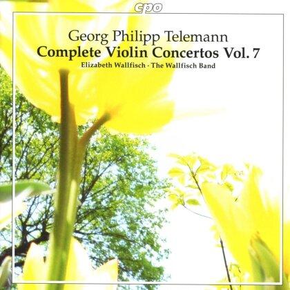 Georg Philipp Telemann (1681-1767), Elisabeth Wallfisch & The Wallfisch Band - Complete Violin Concertos 7