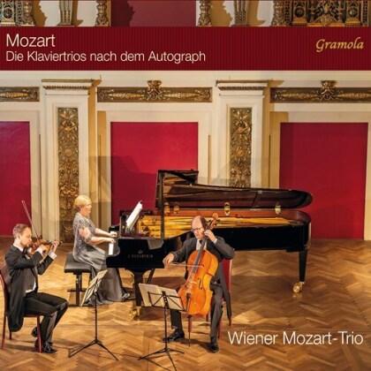 Wiener Mozart-Trio & Wolfgang Amadeus Mozart (1756-1791) - Die Klaviertrios Nach Dem Autograph (2 CDs)