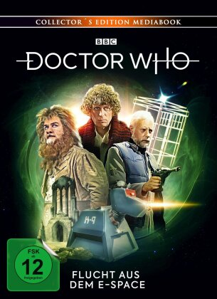 Doctor Who - Vierter Doktor - Flucht aus dem E-Space (Collector's Edition, Mediabook, Blu-ray + 2 DVDs)