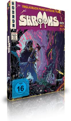 Shrooms (2007) (UPFC - Unglaublich Phantastische Filme Collection, Limited Edition, Mediabook, Blu-ray + DVD)