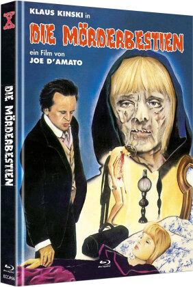Die Mörderbestien (1973) (Cover C, Eurocult Collection, Limited Edition, Mediabook, Uncut, Blu-ray + DVD)