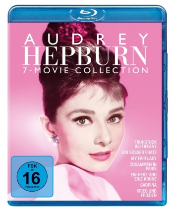 Audrey Hepburn - 7-Movie Collection (7 Blu-rays)