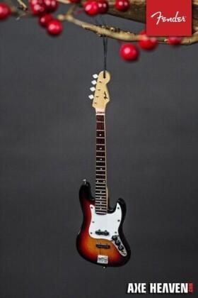 Fender Sunburst Jazz 6 Inch Bass Guitar Ornament