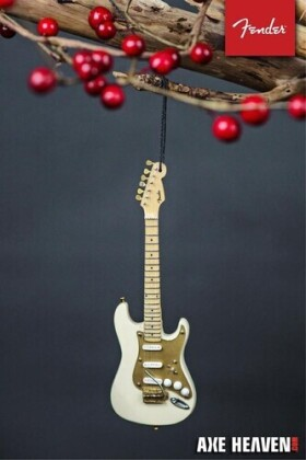 Fender 1950S Cream Strat 6 Inch Guitar Ornament