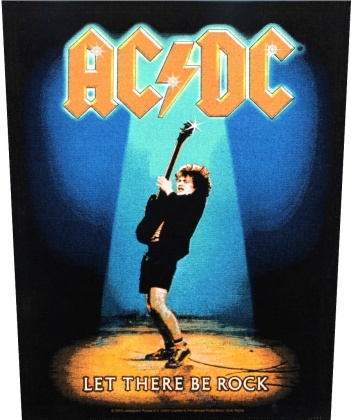 AC/DC - Let There Be Rock Backpatch
