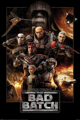 Star Wars: The Bad Batch (Montage) - Maxi Poster