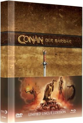Conan (1982) (Wattiert, Collector's Edition Limitata, Mediabook, Uncut, Blu-ray + DVD)