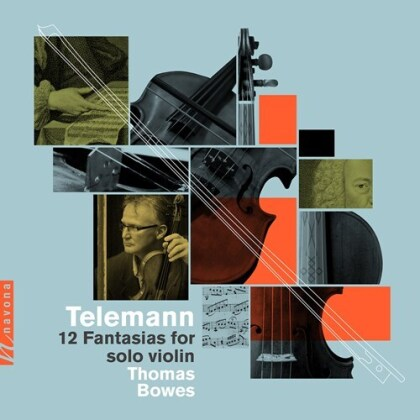 Georg Philipp Telemann (1681-1767) & Thomas Bowes - 12 Fantasias For Solo Violin