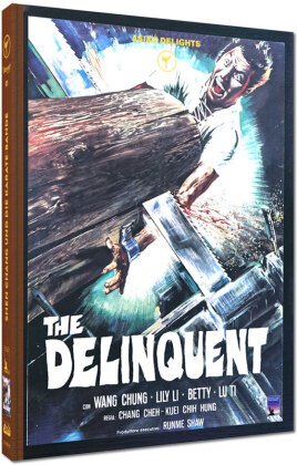 The Delinquent (1973) (Cover B, Limited Edition, Mediabook, Uncut, Blu-ray + DVD)