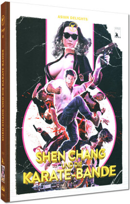 Shen Chang und die Karate-Bande (1973) (Cover E, Limited Edition, Mediabook, Uncut, Blu-ray + DVD)
