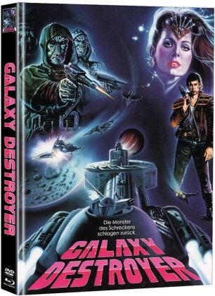Galaxy Destroyer (1986) (Cover A, Limited Edition, Mediabook, Blu-ray + DVD)