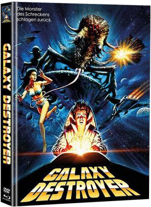 Galaxy Destroyer (1986) (Cover B, Limited Edition, Mediabook, Blu-ray + DVD)