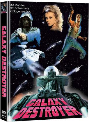 Galaxy Destroyer (1986) (Cover C, Limited Edition, Mediabook, Blu-ray + DVD)