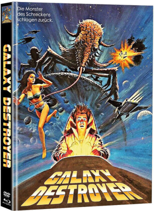 Galaxy Destroyer (1986) (Cover D, Limited Edition, Mediabook, Blu-ray + DVD)