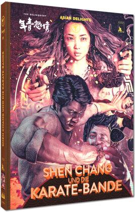 Shen Chang und die Karate-Bande (1973) (Cover A, Wattiert, Limited Edition, Mediabook, Uncut, Blu-ray + DVD)