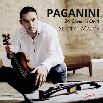 Niccolo Paganini (1782-1840) & Sergey Malov - 24 Capricci 1