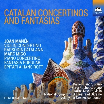 Joan Manén, Marc Migó, Volodymyr Sirenko, Kalina Macuta, Daniel Blanch, … - Catalan Concertinos & Fantasias