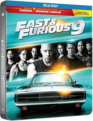 Fast & Furious 9 (2021) (Kinoversion, Limited Edition, Langfassung, Steelbook)