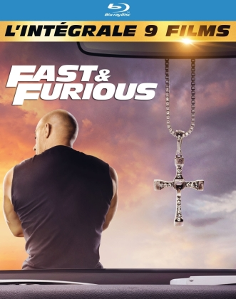 Fast & Furious 1-9 - 9-Movie Collection (9 Blu-ray)