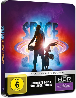 Space Jam 2 - A New Legacy (2021) (Limited Edition, Steelbook, 4K Ultra HD + Blu-ray)