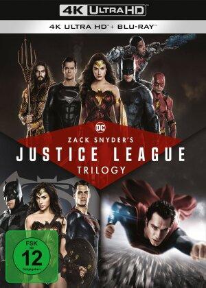 Zack Snyder's Justice League Trilogy (4 4K Ultra HDs + 4 Blu-rays)