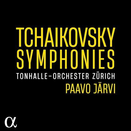 Peter Iljitsch Tschaikowsky (1840-1893), Paavo Järvi & Tonhalle Orchester Zürich - Symphonies (5 CDs)