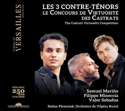Valer Sabadus, Filippo Mineccia & Samuel Mariño - Les 3 Contre-Tenors (2 CDs)