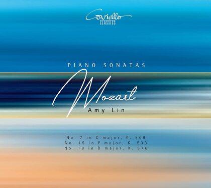 Wolfgang Amadeus Mozart (1756-1791) & Amy Lin - Piano Sonatas 7 15 & 18