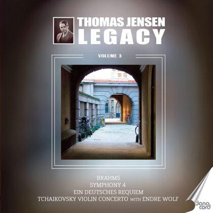 Johannes Brahms (1833-1897), Peter Iljitsch Tschaikowsky (1840-1893), Thomas Jensen & The Danish Radio Symphony Orchestra - Thomas Jensen Legacy 3 (2 CDs)