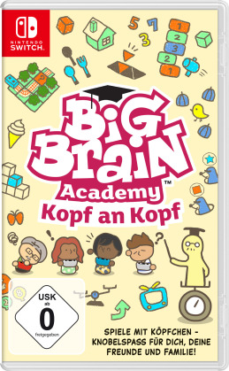 Big Brain Academy - Kopf an Kopf (German Edition)