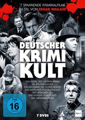 Deutscher Krimi Kult (Pidax Film-Klassiker, 7 DVDs)