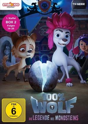100% Wolf - Die Legende des Mondsteins - Staffel 1 - Box 2 (Studio 100, 2 DVDs)