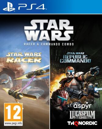 Star Wars - Racer and Commando Combo
