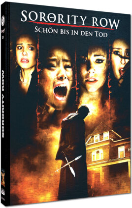 Sorority Row - Schön bis in den Tod (2009) (Cover E, Limited Edition, Mediabook, Uncut, Blu-ray + DVD)